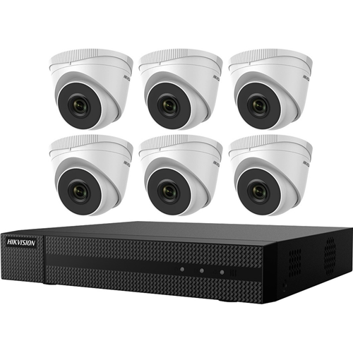 Hikvision 2 MP 6 x Camera Value Express NVR Kits