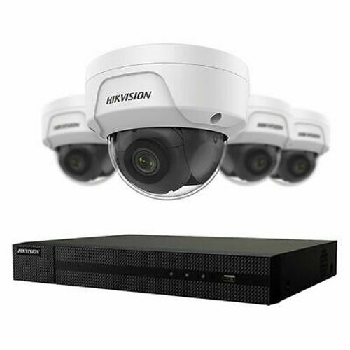 Hikvision 4 MP 4 x Camera Value Express NVR Package