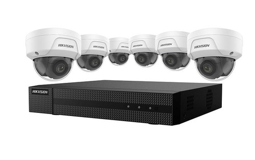 Hikvision 4 MP 6 x Camera Value Express NVR Package