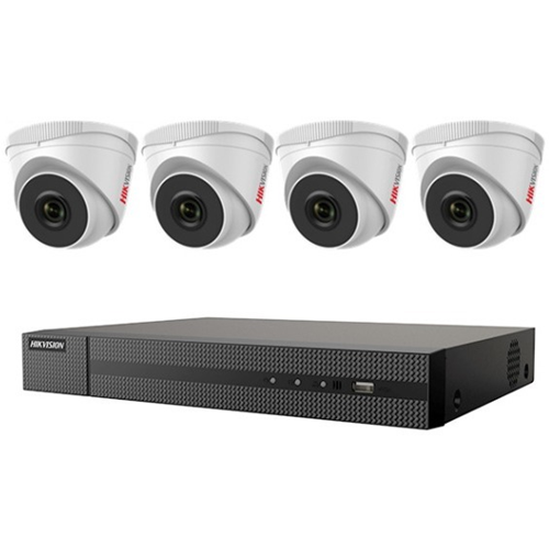 Hikvision 4 MP 4 x Camera NVR Package