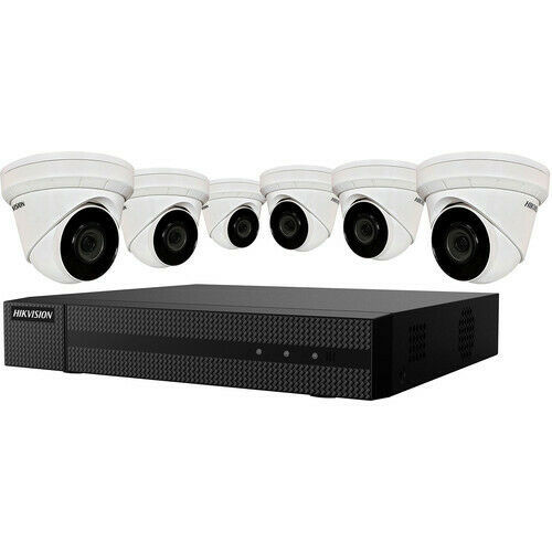Hikvision 4 MP 6 x Camera NVR Package