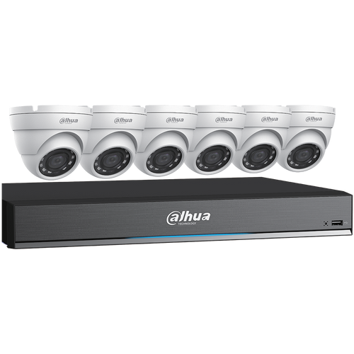Dahua 5MP HDCVI Security System