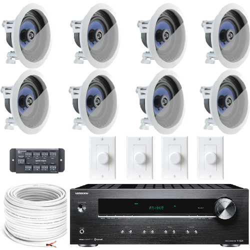 4 Zone Multi Room Audio System
