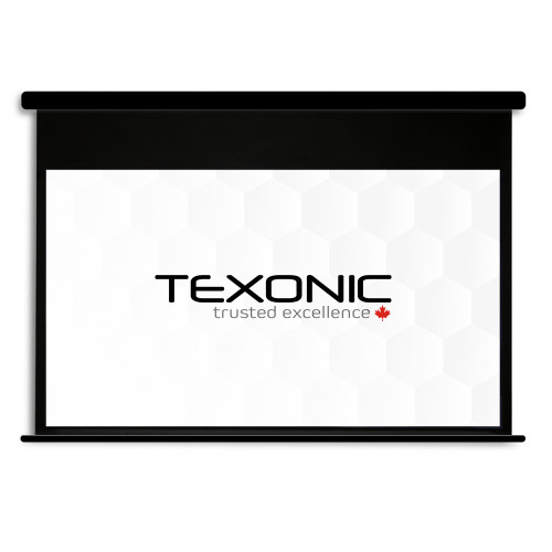 "120"" TEXONIC Motorized Projector Screen | Black Casing (P-BWX120)"