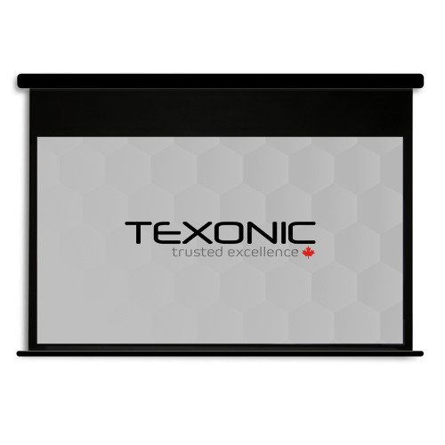 "120"" TEXONIC Grey Motorized Projector Screen + Remote (P-BGX120)"