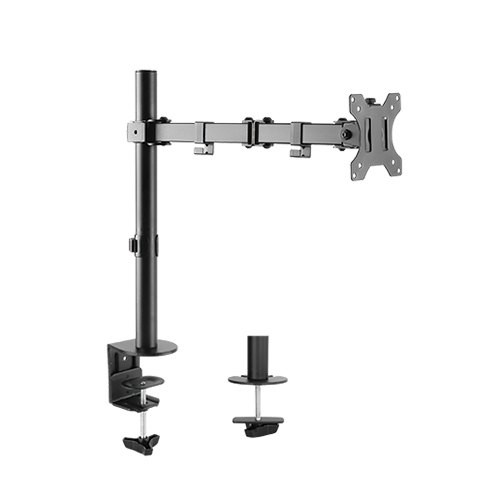 "Monitor Desk Post Mount for 13"" - 27"" Screens up to 8kg (T-SX5)"