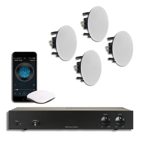 Smart Audio system | 4 x Ceiling Speakers | WiFi stream