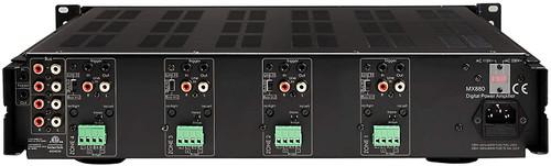 DX850 Eight-Channel Digital Amplifier