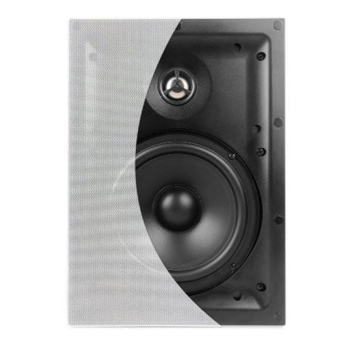 "6.5"" In-Wall 70 Watts 8 Ohms Thin Trim Speakers"