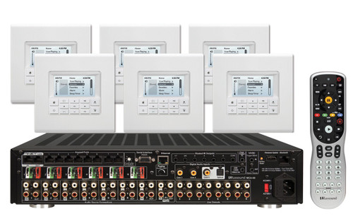MCA88 Controller Amplifier System Kit with MDK-C6 Keypads