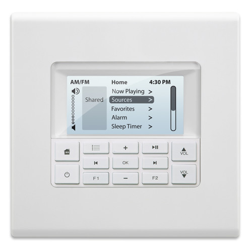 The MDK-C6 Multiline Display Keypad is a wall-mounted, standard fit, double-gang keypad for all MCA-Series controllers.