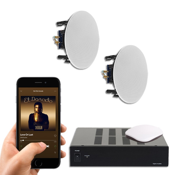 Best music streaming player | with Ceiling Speakers | Class D Amplifier