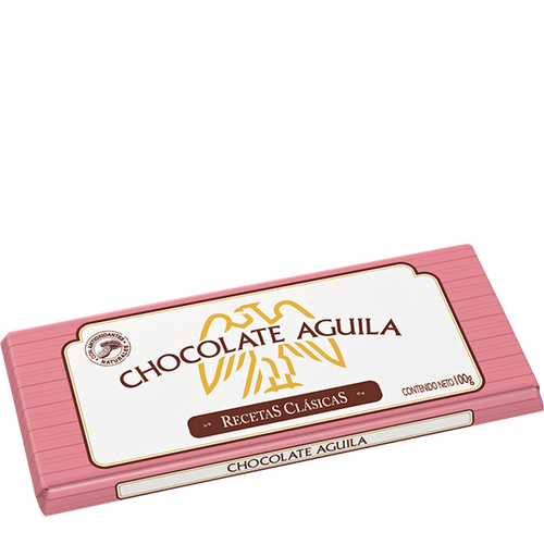 Águila Dark Chocolate Bar Perfect with Hot Milk Submarino/Remo, 100 g / 3.5 oz bar