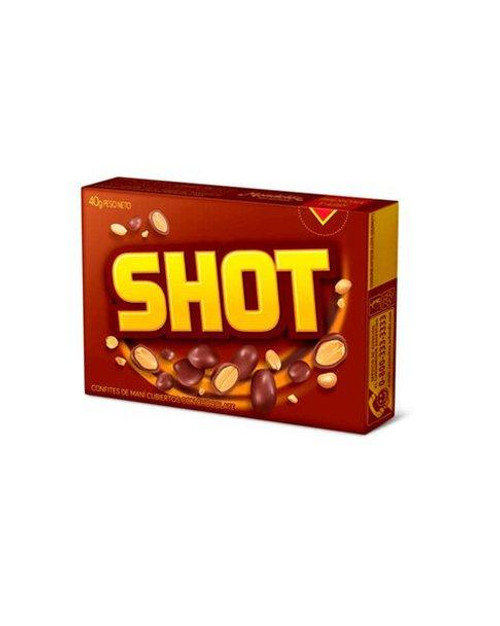 Shot Confites de Maní Cubiertos con Chocolate Peanuts with Chocolate, 40 g / 1.41 oz (pack of 3)