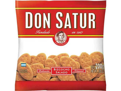 Don Satur Classic Biscuits Bizcochos Wholesale Bulk Box, 200 g / 7.1 oz ea (30 count per box). $1.99 each!