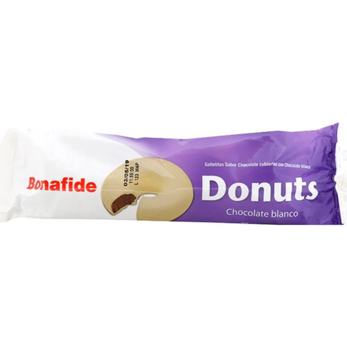 Bonafide Mini Donuts White Chocolate with Cookie, 78 g / 2.8 oz (pack of 3)