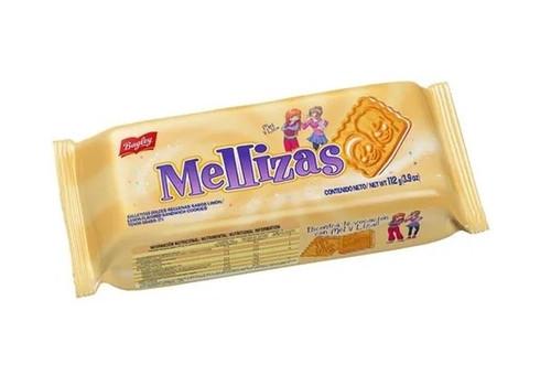 Mellizas Lemon Flavored Sandwich Cookies, 112 g / 3.9 oz (pack of 3)
