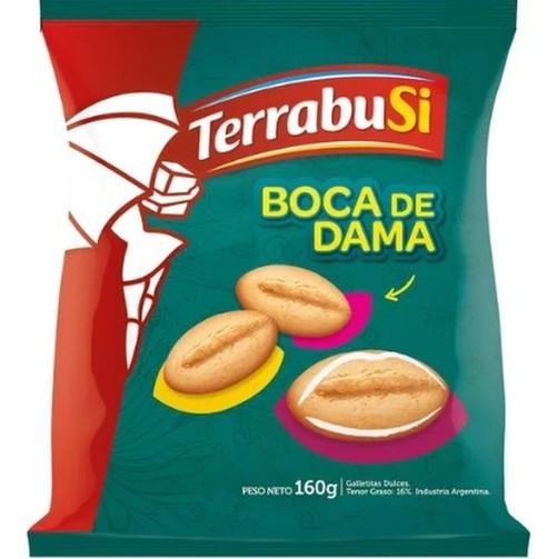 Boca de Dama Galletitas Dulces Sweet Classic Argentinian Cookies, 160 g / 5.6 oz
