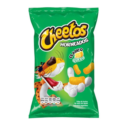 Chizitos Cheetos Snack Corn Wider Sticks Cheese Flavor, 165 g / 5.8 oz bag. ArgentinaSelect.com