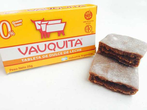 Vauquita Classic Dulce de Leche Bar (box of 18 units). Argentina Select.