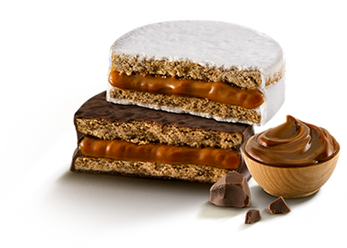 Havanna Alfajor Milk Chocolate and Italian Meringue with Dulce de Leche (mixed box of 12)