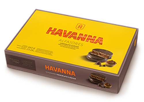Havanna Alfajor Milk Chocolate Dulce de Leche (box of 12)