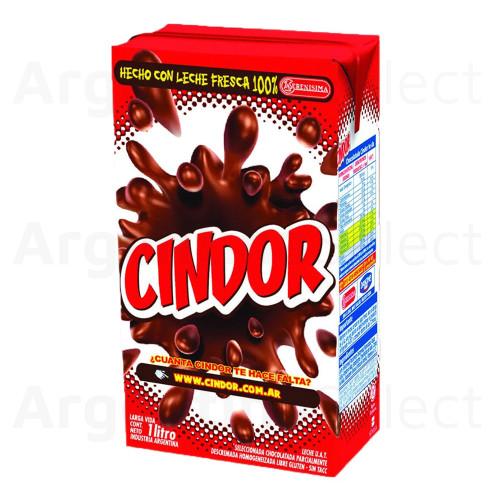 Cindor Chocolatada Classic Milk Chocolate Tetrapack, 1 L / 33.8 fl oz. Argentina Select.
