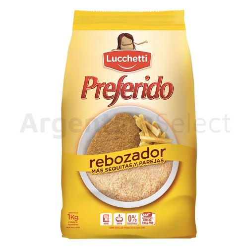 Rebozador Preferido Lucchetti Pan Rallado 1 Kg. Argentina Select.