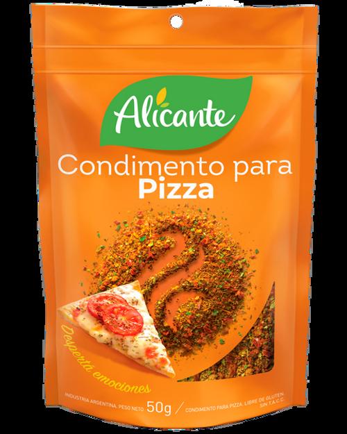 Alicante Condimento para Pizza (25 gr). Pack x 3.