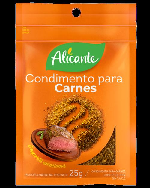 Alicante Condimento para Carnes (25 gr). Pack x 3. Argentina Select.