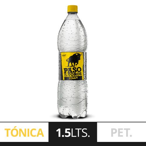 Paso de los Toros Tónica Tonic Water 1.5 lts. Pack x 6. Argentina Select.