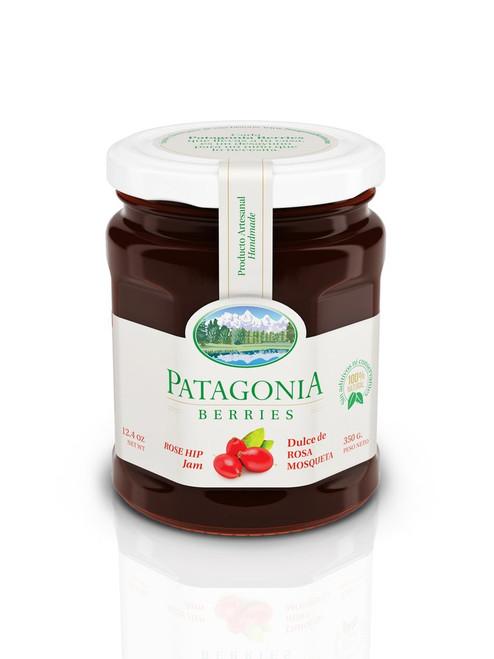 Patagonia Berries Rose-hip Jam - Dulce de Rosa Mosqueta Mermelada 350 gr