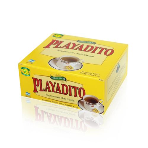 Playadito Mate Cocido en Squitos. 50 Teabags. Argentina Select.