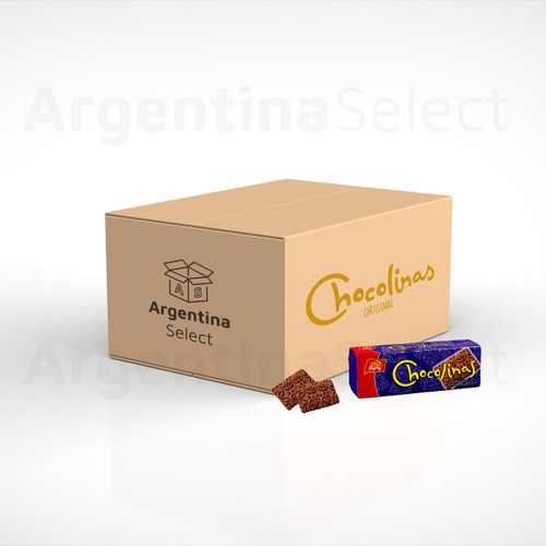 Chocolinas Chocolate Galletitas Chocotorta, 250 g. Box x 40. Free Shipping. Sólo en Argentina Select.