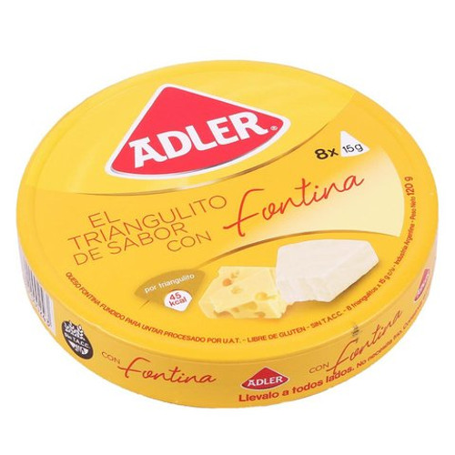 Adler Snak Queso Mini Fontina 120 gr. Cheese Snack