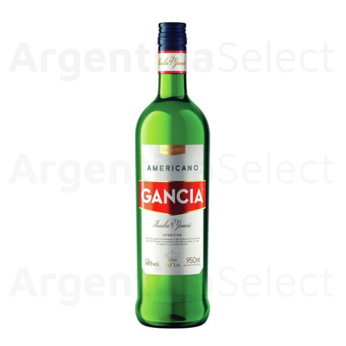 Gancia Americano Aperitivo Appetizer Drink Herbs & Citric Flavor Perfect For Cocktails - (950 ml). Argentina Select.