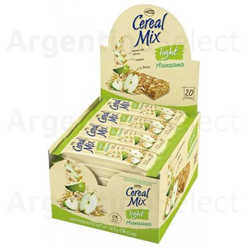 Barra de Cereales Manzana Light. Caja x 20 barritas. Sólo en Argentina Select.