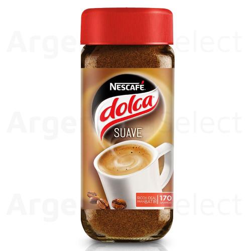 Nescafe Dolca Suave Café Instantáneo (170 gr). Instant Soft Coffee. Argentina Select.