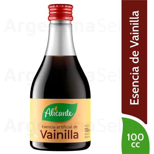 Alicante Esencia de Vainilla Liquida (100 ml). Vanilla Essence. Argentina Select.