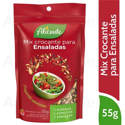 Alicante Semillas Mix Crocante Ensaladas (55 gr). Mixed Seeds for Salads. Argentina Select.