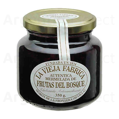 La Vieja Fabrica Dulce Mermelada Frutos del Bosque (350 gr). Mixed Berries Jam. Argentina Select.