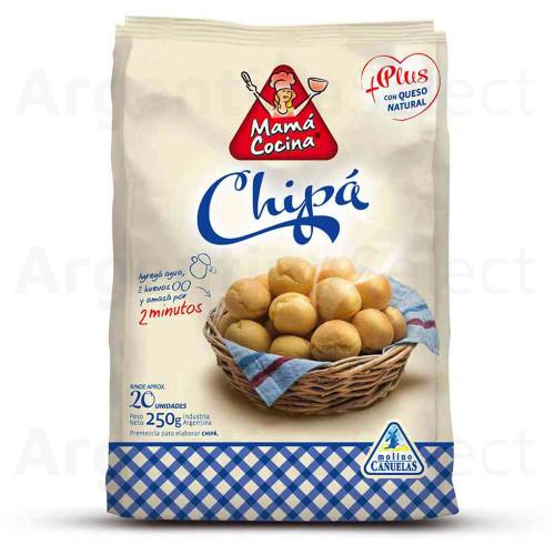 Mama Cocina Plus Premezcla Chipa (250 gr). Argentina Select.