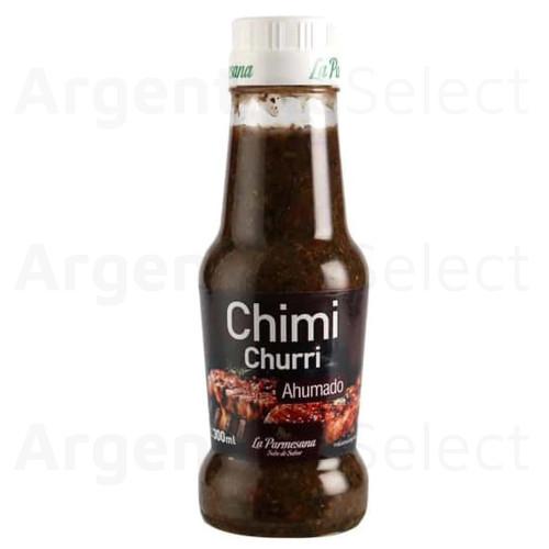 La Parmesana Chimichurri Ahumado Argentinian Sauce, 300 g / 10.6 oz. Argentina Select.