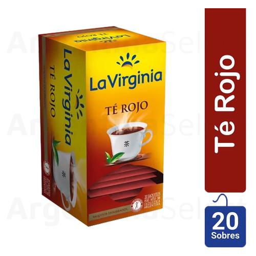 La Virginia Té Rojo, (30gr). Pack x 20. Red Tea. Argentina Select.