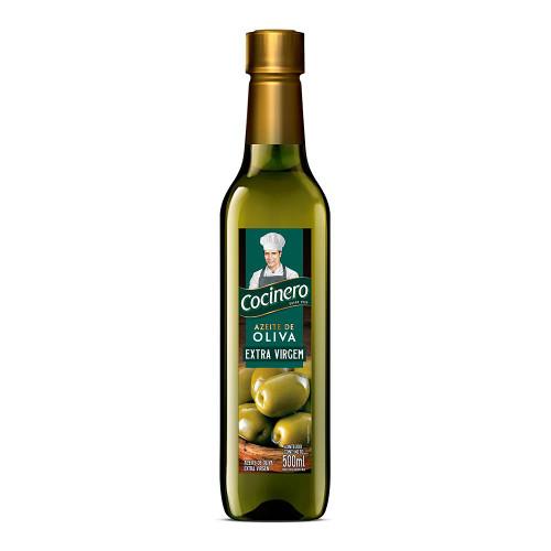 Aceite de Oliva Cocinero. Extra Virgen. 500 cc. Argentina Select.