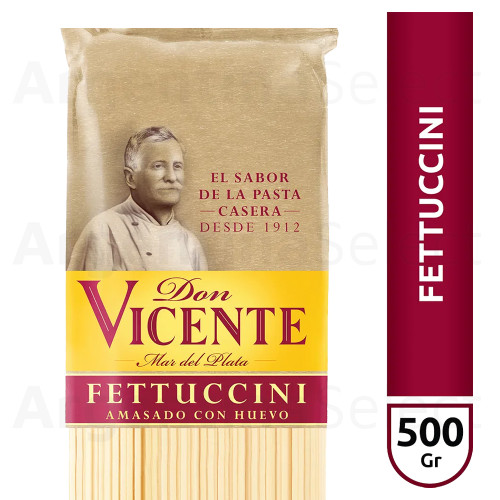 Don Vicente Fettuccini Long Pasta, 500 g / 1.1 lb. Argentina Select.