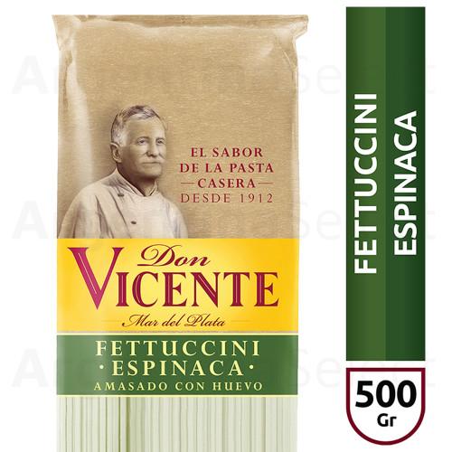 Don Vicente Fettuccini Espinaca Long Pasta, 500 g / 1.1 lb. Argentina Select.
