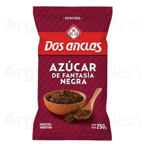 Dos Anclas Azúcar Negra Brown Sugar, 250 g / 8.8 oz. Argentina Select.