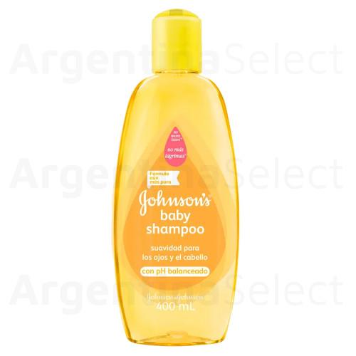 Shampoo Johnson's Bebe c/Ph Balanceado, 400 ml. Baby. Argentina Select.