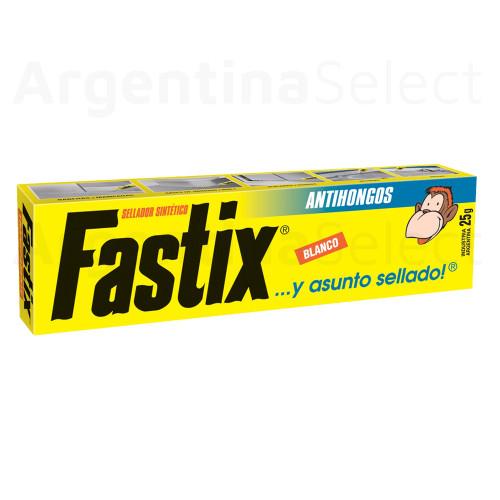 Fastix Adhesivo Sellador Sintético Transparente 25 g / 0.88 oz. Argentina Select.